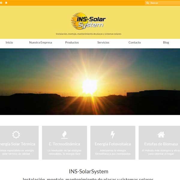 Nueva Web Responsive INS-SolarSystem
