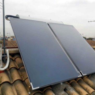 Primera instalación del 2018, placa solar Tusol en Coria del Río